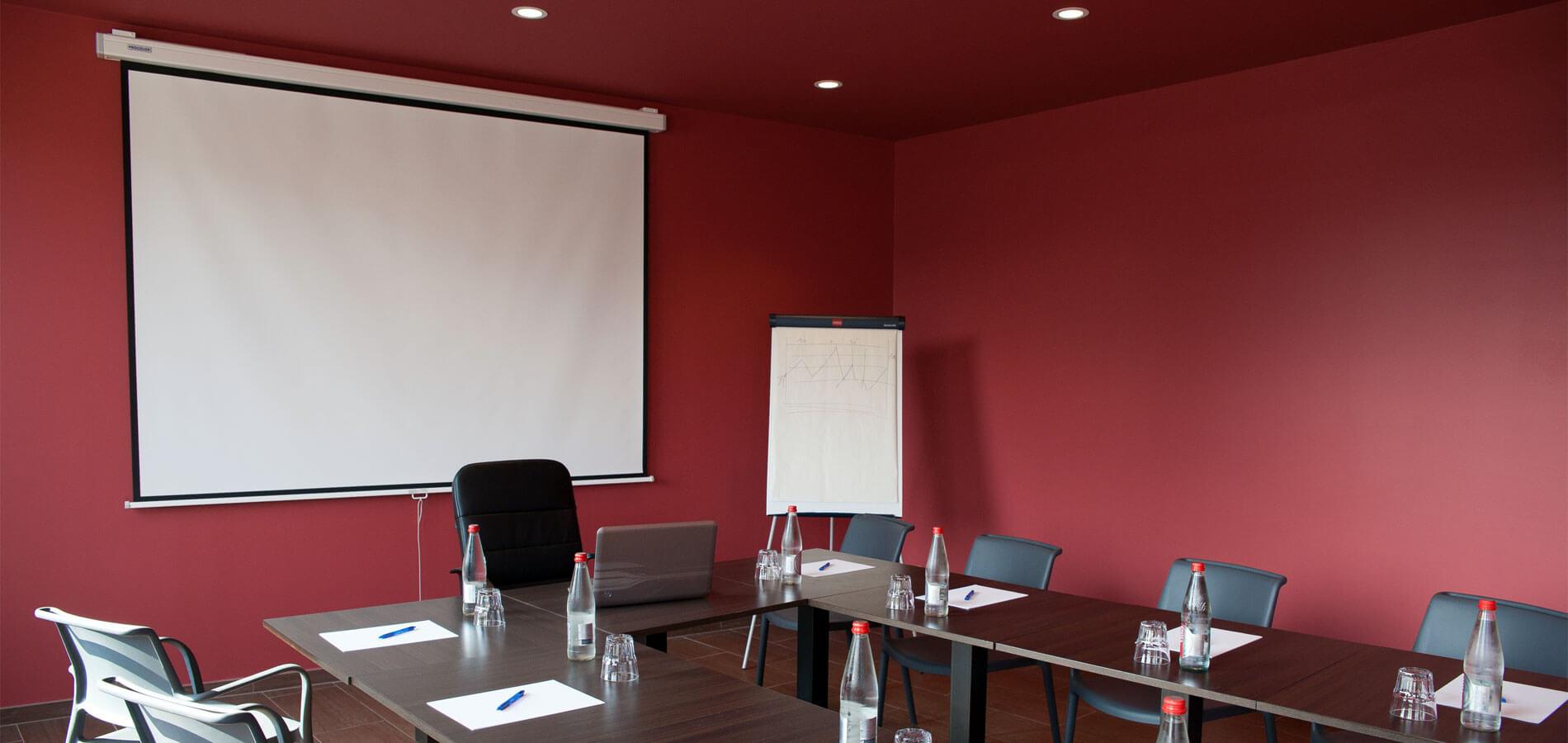 Salle de seminaire du Spazio restaurant à Fécamp