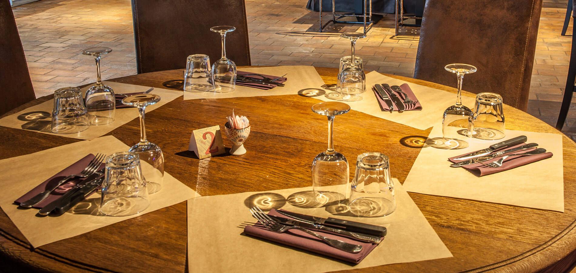 Table pizzeria restaurant seminaire Le Spazio à Fécamp