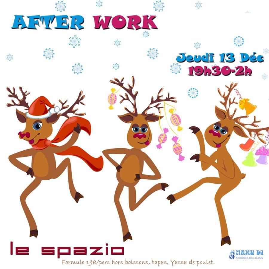 After work jeudi 13 décembre
