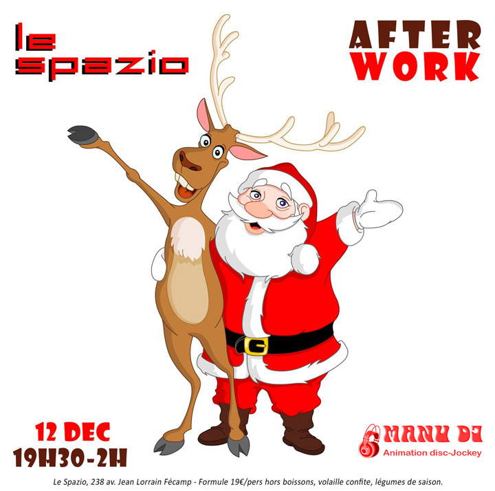 After work du Jeudi 12 décembre 2019